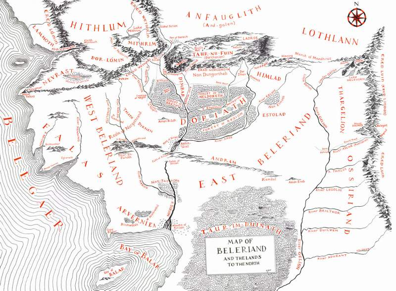 The Lord Of The Rings Maps – Lord of the Rings Detailed Map